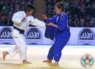 Sol Mi Kim (PRK), Aurore Urani Climence (FRA) - Grand Prix Tbilisi (2015, GEO) - © IJF Media Team, International Judo Federation