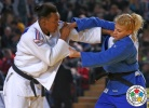 Audrey Tcheumeo (FRA), Kayla Harrison (USA) - Grand Prix Tbilisi (2015, GEO) - © IJF Media Team, International Judo Federation