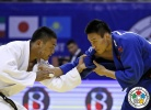 Otgonbaatar Lkhagvasuren (MGL), Xunzhao Cheng (CHN) - Grand Prix Ulaanbaatar (2015, MGL) - © IJF Media Team, International Judo Federation