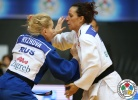 Yulia Kazarina (RUS), Andreea Chitu (ROU) - Grand Prix Zagreb (2015, CRO) - © IJF Media Team, International Judo Federation