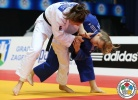 Guusje Steenhuis (NED), Daria Pogorzelec (POL) - Grand Prix Zagreb (2015, CRO) - © IJF Media Team, International Judo Federation