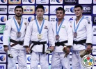 Ba-Ul An (KOR), Arsen Galstyan (RUS), Georgii Zantaraia (UKR), Rishod Sobirov (UZB) - Grand Slam Abu Dhabi (2015, UAE) - © IJF Media Team, International Judo Federation