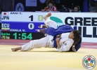 Chizuru Arai (JPN) - Grand Slam Abu Dhabi (2015, UAE) - © IJF Media Team, IJF