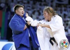 Tessie Savelkouls (NED), Sisi Ma (CHN) - Grand Slam Abu Dhabi (2015, UAE) - © IJF Media Team, International Judo Federation