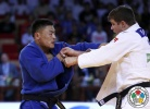 Otgonbaatar Lkhagvasuren (MGL), Noël Van 't End (NED) - Grand Slam Abu Dhabi (2015, UAE) - © IJF Media Team, IJF