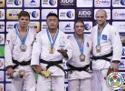 Otgonbaatar Lkhagvasuren (MGL), Noël Van 't End (NED), Krisztian Toth (HUN), Marcus Nyman (SWE) - Grand Slam Abu Dhabi (2015, UAE) - © IJF Media Team, International Judo Federation