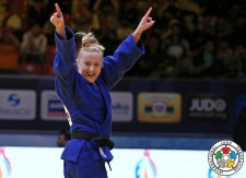 Corina Caprioriu (ROU) - Grand Slam Baku (2015, AZE) - © IJF Media Team, IJF