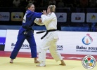 Martyna Trajdos (GER), Kathrin Unterwurzacher (AUT) - Grand Slam Baku (2015, AZE) - © IJF Media Team, International Judo Federation