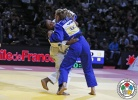 Edwige Gwend (ITA), Martyna Trajdos (GER) - Grand Slam Paris (2015, FRA) - © IJF Media Team, International Judo Federation