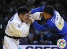 Goki Maruyama (JPN), Uuganbaatar Otgonbaatar (MGL) - Grand Slam Paris (2015, FRA) - © IJF Media Team, International Judo Federation