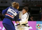 Tina Trstenjak (SLO), Martyna Trajdos (GER) - Grand Slam Tokyo (2015, JPN) - © IJF Media Team, International Judo Federation