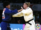 Anamari Velensek (SLO), Mami Umeki (JPN) - Grand Slam Tokyo (2015, JPN) - © IJF Media Team, International Judo Federation