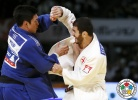 Avtandili Tchrikishvili (GEO), SeungSu Lee (KOR) - Grand Slam Tokyo (2015, JPN) - © IJF Media Team, International Judo Federation