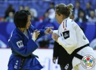 Corina Stefan (ROU), Tsukasa Yoshida (JPN) - Grand Slam Tyumen (2015, RUS) - © IJF Media Team, International Judo Federation