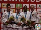 Kayla Harrison (USA), Natalie Powell (GBR), Audrey Tcheumeo (FRA), Luise Malzahn (GER) - IJF World Masters Rabat (2015, MAR) - © IJF Media Team, International Judo Federation
