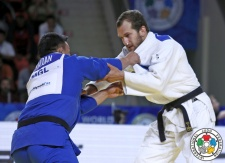 Martin Pacek (SWE) - World Championships Astana (2015, KAZ) - © IJF Media Team, International Judo Federation