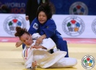 Misato Nakamura (JPN), Andreea Chitu (ROU) - World Championships Astana (2015, KAZ) - © IJF Media Team, International Judo Federation