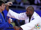Ryu Shichinohe (JPN), Teddy Riner (FRA) - World Championships Astana (2015, KAZ) - © IJF Media Team, International Judo Federation