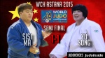 Sisi Ma (CHN), Song Yu (CHN) - World Championships Astana (2015, KAZ) - © IJF Media Team, International Judo Federation