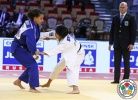 Haruka Funakubo (JPN), Sarah Harachi (FRA) - World Junior Team Championships Abu Dhabi (2015, UAE) - © IJF Media Team, International Judo Federation