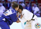 Nami Nabekura (JPN), Clemence Eme (FRA) - World Junior Team Championships Abu Dhabi (2015, UAE) - © IJF Media Team, International Judo Federation