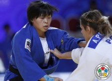 Anzu Yamamoto (JPN) - World Team Championships Astana (2015, KAZ) - © IJF Media Team, International Judo Federation