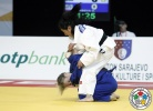 Olga Borisova (RUS), Oidovchimed Baasansuren (MGL) - Cadet World Championships Sarajevo (2015, BIH) - © IJF Media Team, International Judo Federation