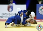 Emilia Kanerva (FIN), Ryoko Takeda (JPN) - Cadet World Championships Sarajevo (2015, BIH) - © IJF Media Team, International Judo Federation