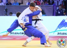 Yago Abuladze (RUS) - World U21 Championships Abu Dhabi (2015, UAE) - © IJF Media Team, IJF