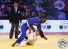 Moustapha Toure (SEN), Denislav Ivanov (BUL) - World U21 Championships Abu Dhabi (2015, UAE) - © IJF Media Team, International Judo Federation
