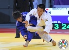 Yuta Higuchi (JPN), Ha-Rim Lee (KOR) - World U21 Championships Abu Dhabi (2015, UAE) - © IJF Media Team, International Judo Federation