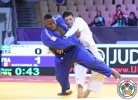 Messie Katanga (FRA), Joao Cesarino Silva (BRA) - World U21 Championships Abu Dhabi (2015, UAE) - © IJF Media Team, International Judo Federation