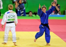 Paula Pareto (ARG) - 2016 Olympic Games day 1 Judo U60kg & U48kg (2016, BRA) - © David Finch, Judophotos.com