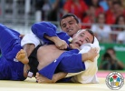 Adrian Gomboc (SLO), Rishod Sobirov (UZB) - 2016 Olympic Games day 2 Judo U66kg & U52kg (2016, BRA) - © IJF Media Team, International Judo Federation