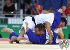 Rishod Sobirov (UZB), Adrian Gomboc (SLO) - 2016 Olympic Games day 2 Judo U66kg & U52kg (2016, BRA) - © IJF Media Team, International Judo Federation