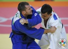 Rishod Sobirov (UZB), Dzmitry Shershan (BLR) - 2016 Olympic Games day 2 Judo U66kg & U52kg (2016, BRA) - © IJF Media Team, International Judo Federation