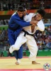 Shohei Ono (JPN), Rustam Orujov (AZE) - 2016 Olympic Games day 3 Judo U73kg & U57kg (2016, BRA) - © IJF Media Team, International Judo Federation