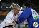 Martyna Trajdos (GER), Mariana Silva (BRA) - 2016 Olympic Games day 4 Judo U81kg & U63kg (2016, BRA) - © IJF Media Team, International Judo Federation