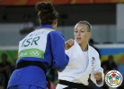 Sally Conway (GBR), Linda Bolder (ISR) - 2016 Olympic Games day 5 Judo U90kg & U70kg (2016, BRA) - © IJF Media Team, IJF