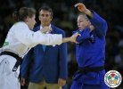 Sally Conway (GBR), Bernadette Graf (AUT) - 2016 Olympic Games day 5 Judo U90kg & U70kg (2016, BRA) - © IJF Media Team, IJF