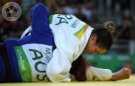 Mayra Aguiar (BRA) - 2016 Olympic Games day 6 Judo U100kg & U78kg (2016, BRA) - © IJF Media Team, International Judo Federation
