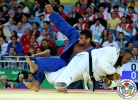 Alex Garcia Mendoza (CUB), Mukhamadmurod Abdurakhmonov (TJK) - 2016 Olympic Games day 7 Judo O100 & O78kg (2016, BRA) - © IJF Media Team, International Judo Federation