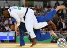 Teddy Riner (FRA), Rafael Silva (BRA) - 2016 Olympic Games day 7 Judo O100 & O78kg (2016, BRA) - © IJF Media Team, International Judo Federation