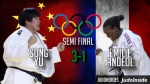 Song Yu (CHN), Emilie Andeol (FRA) - Olympic Games Rio de Janeiro (2016, BRA) - © JudoHeroes