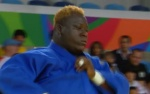 Deo Gracie Ngokaba (COD) - 2016 Olympic Games day 7 Judo O100 & O78kg (2016, BRA) - © taken from video
