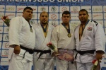 Faicel Jaballah (TUN), Mohammed Tayeb (ALG), Mohamed El Mehdi Lili (ALG), Ahmed Wahid (EGY) - African Championships Tunis (2016, TUN) - © African Judo Union