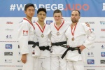 Samuel Hall (GBR), Gregg Varey (GBR), Jonathan Dewar (GBR), James Martin (GBR) - British Championships Sheffield (2016, GBR) - © British Judo Association