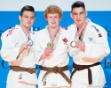 Tanner Sudo (CAN), Luka Khatelishvili (CAN), Jeremy Lemieux (CAN) - Canadian Elite 8 U18 Montreal (2016, CAN) - © Rafal Burza