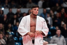 David Tekic (GER), Judo Tattoo (IJF) - German Championships Hamburg (2016, GER) - © Klaus Müller, Watch: https://km-pics.de/