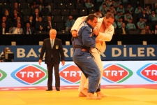 David Moura (BRA), Rafael Silva (BRA) - Grand Prix Samsun (2016, TUR) - © Emir Incegul, Turkish Judo Federation